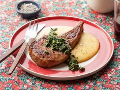 This recipe for Pork Chops with Roasted Kale and Walnut Pesto makes more pesto than you will need, but the leftovers will not go to waste. Try adding a spoonful to scrambled eggs, or mix with mayo for a sandwich spread.
