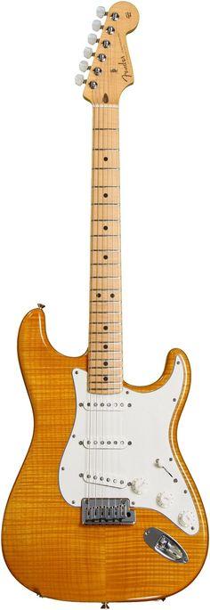 Fender Custom Shop 2013 Custom Deluxe Strat - Amber Transparent