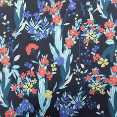 Garden Life Dressmaking Fabric, Quilts, Fabrics, Garden, Life, Black, Tejidos, Garten, Black People