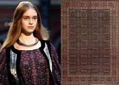 Hermès Tabriz collection for fall/winter 2013, inspired by Persian rugs