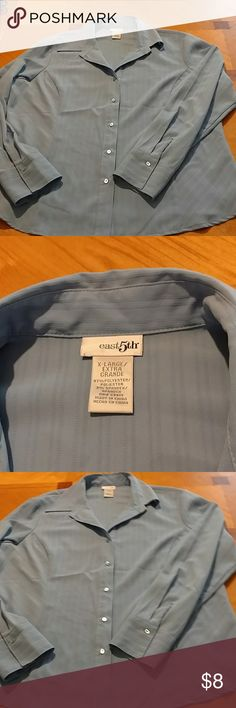East 5th dress shirt East 5th dress shirt. Size XL. Excellent condition. Smoke free home East 5th Tops Button Down Shirts