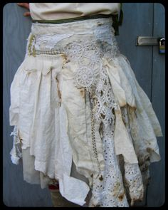Linen and lace.