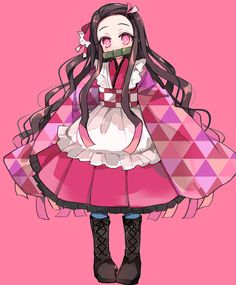Demon Manga, Manga Anime, Anime Chibi, Demon Slayer, Slayer Anime, Kawaii Anime Girl, Anime Art Girl, Female Characters, Anime Characters