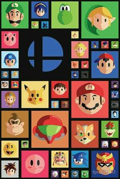 Nintendo collage