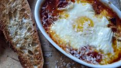 salted sugared spiced™: Uova al Forno aka Baked Eggs