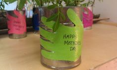 Mother's Day Flower Cans: Living the Teaching Life