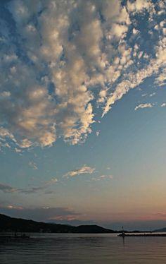 Sunset near Aidipsos