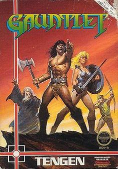 Gauntlet: I always had to be Thyra when I wanted to be the elf.