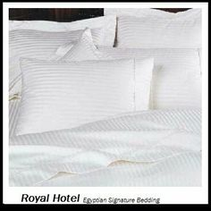 Royal Hotel's 8pc California-King size Bed-in-a-Bag Striped White 1200-Thread-Count Siberian Goose Down Alternative Comforter 100 percent Egyptian-Cotton 1200 TC - includes sheets and Duvet Cover Sets by Royal Hotel, http://www.amazon.com/dp/B004BG9F7S/ref=cm_sw_r_pi_dp_cAbbrb14WREN1