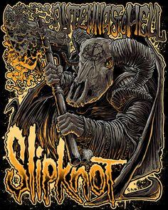 Slipknot Poster by Diegoflower on CreativeAllies.com
