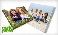 """$39 for a 16""""x20"""" Gallery-Wrapped Canvas, Including Shipping and Handling, from CafePress ($124.94 Value)"""