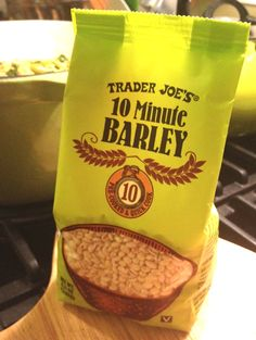 A good thing to do with a cute, little grain. Things To Do, Good Things, Trader Joe's, Kale, Grains, Snack Recipes, Chips, Cooking, Hot