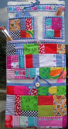 storage bag by dutch-colours, via Flickr