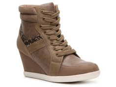 Buying these too...Rebels Glam Glitter Wedge Sneaker