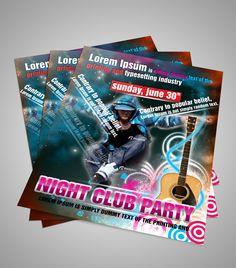 Flyer On Music  Flyer Design