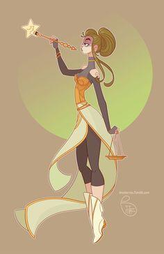 Character Design - Libra by MeoMai on DeviantArt