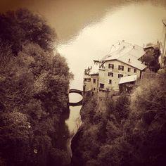 Orrido di Nesso, Lake Como, Italy