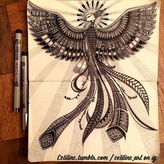 Hand Drawn Zentangle, Doodles, Illustrations and Drawings. See more art and information about Celiline, Press the Image.