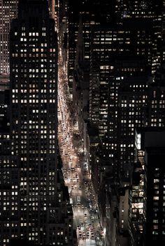 Beautiful #city #lights at #night