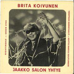 Brita Koivunen & Jaakko Salon Yhtye - Brita Koivunen & Jaakko Salon Yhtye (1958, Vinyl)   Discogs Pet Dogs, Pets, Video Editing, Green Eyes, 1950s, Album, Dogs, Animals And Pets, Card Book