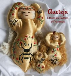 European Goddesses - Austeja, Lithuanian Bee Goddess