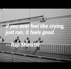 If Namjoon says so. I'll try it as soon as I feel like crying and breaking down again Bts Lyrics Quotes, Bts Qoutes, Music Quotes, Music Lyrics, Bts Boys, Bts Bangtan Boy, Jimin, Namjoon, Taehyung