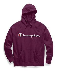 Champion Women's Powerblend® Fleece Pullover Hoodie, Script Logo - Modern Hoodie Outfit, Hoodie Jacket, Champion Clothing, Fleece Pullover, Script Logo, Direct To Garment Printer, Trendy Hoodies, Womens Nike Sweatshirts, Womens Hoodie