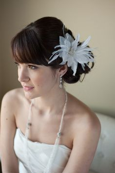 $60  Hey, I found this really awesome Etsy listing at https://www.etsy.com/listing/69842699/bridal-feather-hairpin-wedding-hair