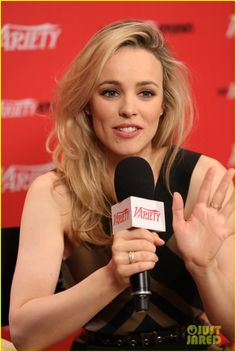 Rachel McAdams - I think she's really pretty with blonde hair because you can actually see the color of her eyes