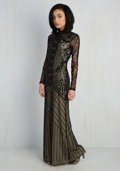 She Had It Stunning Dress | Mod Retro Vintage Dresses | ModCloth.com HOLY CRAPIOLI THIS IS GORGEOUS
