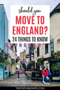Moving abroad to England? Read these living in England pros and cons before you start your expat life. | How to move to England | Moving to England checklist | Moving to UK | British life | Moving to England from US | Moving to UK from Canada | England expat life | Moving to London checklist | Moving to London from US | #movingabroad #england Moving To England, Moving To The Uk, Moving To Canada, Best Places To Move, Places To See, Manchester England, London England, Living In England, London Life