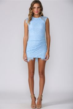 HelloMolly | Candy Crush Dress Blue - Dresses