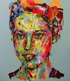 "Saatchi Art Artist Jeong Ah Lim; Painting, ""an ordinary person"" #art"