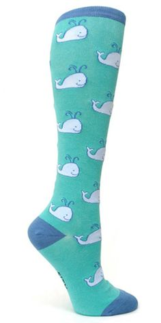 Sock It to Me's Whales Women's Knee High socks