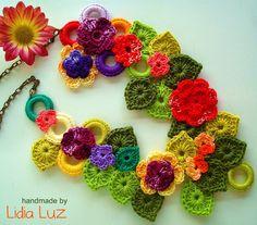 Lidia Luz: Crochet Necklace