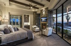 Contemporary Guest Bedroom - Found on Zillow Digs