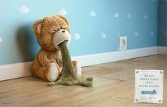 Badabulle perfumados sacos de fraldas: Urso