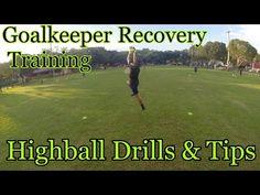 Goalkeeper Recovery Training: Highball Drills and Tips Goalkeeper Drills, Goalkeeper Training, Soccer Training, Neymar, Messi, Goalie Quotes, Soccer Quotes, Soccer Goalie, Football Drills