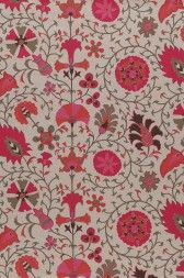 Lacefield Calypso Hibiscus Textile @lacefielddesign