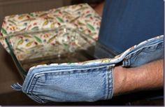 Jean pocket pot holders by stefanie