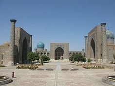 The Registran, Samarkand, Uzbekistan. It changes what you think about culture.