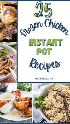 Healthy Freezer Meals, Good Healthy Recipes, Quick Easy Meals, Healthy Snacks, Easy Chicken Recipes, Pork Recipes, Lunch Recipes, Rice Instant Pot Recipe, Instant Pot Pressure Cooker