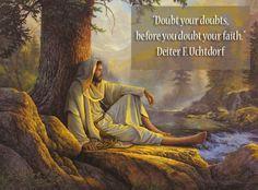Dieter F. Uchtdor quote on Greg Olsen painting of Jesus Christ
