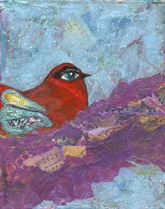 Red Bird by Cherie B