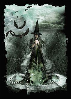 Bruxas!       Uma bruxa é geralmente retratada no imaginário popular como uma mulher velha, nariguda e encarquilhada, exímia e contu...