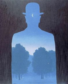 by Rene Magritte Acrylic Painting Lessons, Watercolor Paintings Abstract, Painting Prints, Watercolor Artists, Abstract Oil, Painting Art, Rene Magritte, Banksy Stencil, Pose