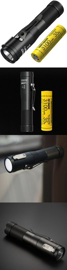 2017 NITECORE C1 1800 Lumen CREE XHP35 HD E2 LED Flashlight+IMR 18650 Rechargeable Battery Magnetic Tailcap Concept 1 EDC Torch
