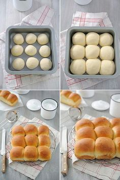 Brioche buchty - Amuses bouche - Food and Drink Sweet Recipes, Snack Recipes, Cooking Recipes, Donut Recipes, Bread And Pastries, Snacks, Cooking Time, Love Food, Food Porn