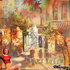 Art Deco Autumn On The Square/ http://bln.gs/b/28k3ci