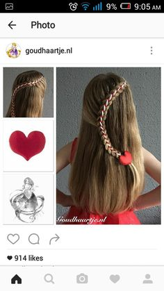Headband corset braid with a small ribbon from the webshop www     Peinados